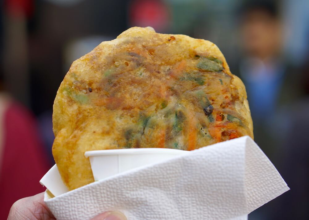 what to eat in seoul - pageon korean pancakes