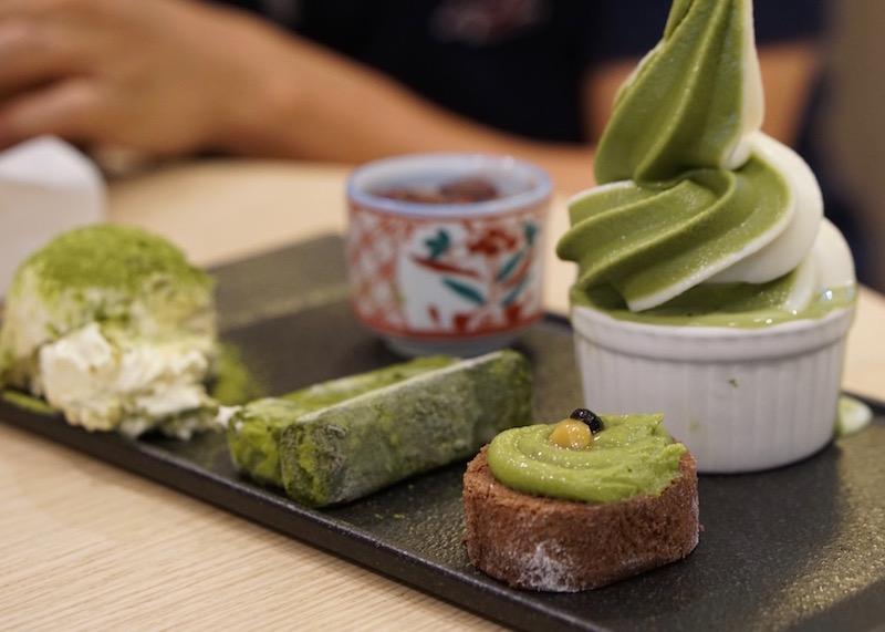 Desserts in Singapore - maccha house