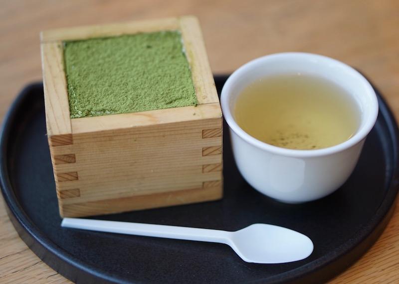 Desserts in Singapore - green tiramisu