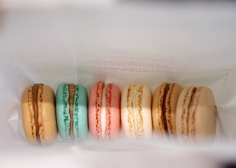 best desserts in bangkok - laduree macarons