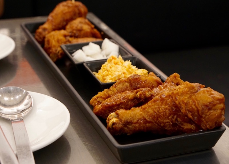 food to eat in bangkok - bonchon fried chicken