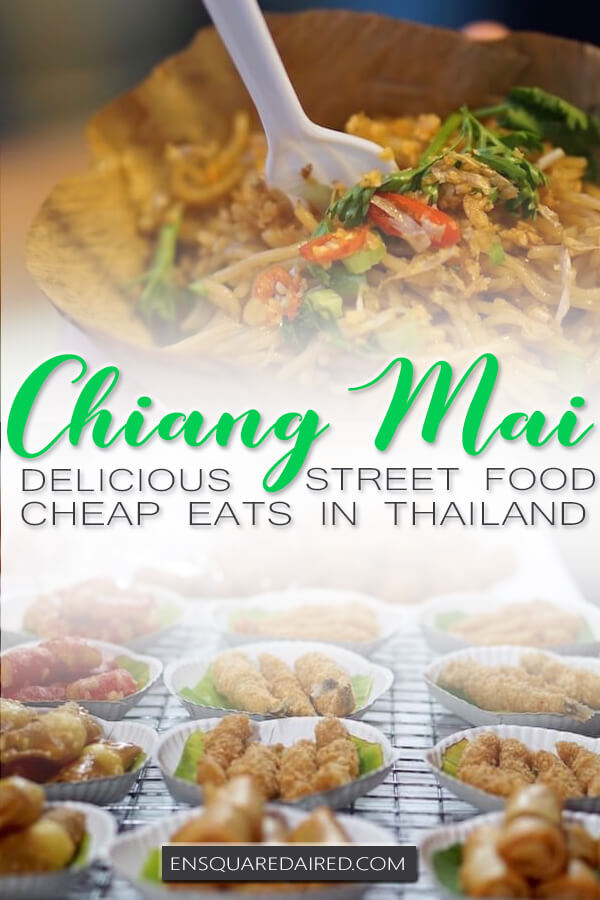 chiang mai street food pin