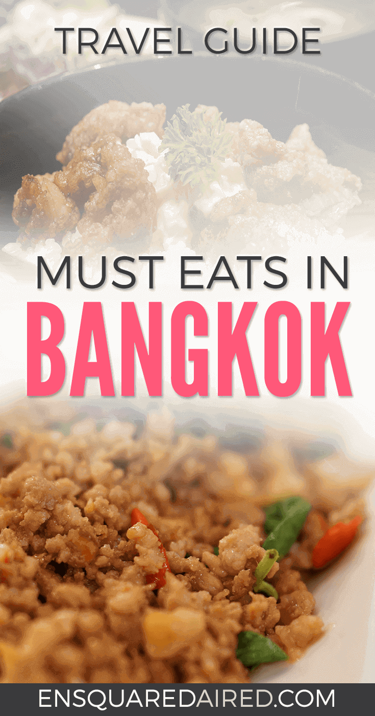 9 Of The Most Delightful Food To Eat In Bangkok | Are you looking for good food during your visit to Thailand's capital city? Click on this post to see photos of the delicious food you can eat in Bangkok. Bangkok food is so amazing that it will leave you wanting for more. #travel #bangkoktravel #bangkok #bangkokeats