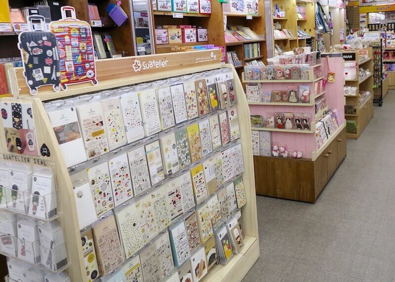 korean stationery stores seoul - kawaii stationery store