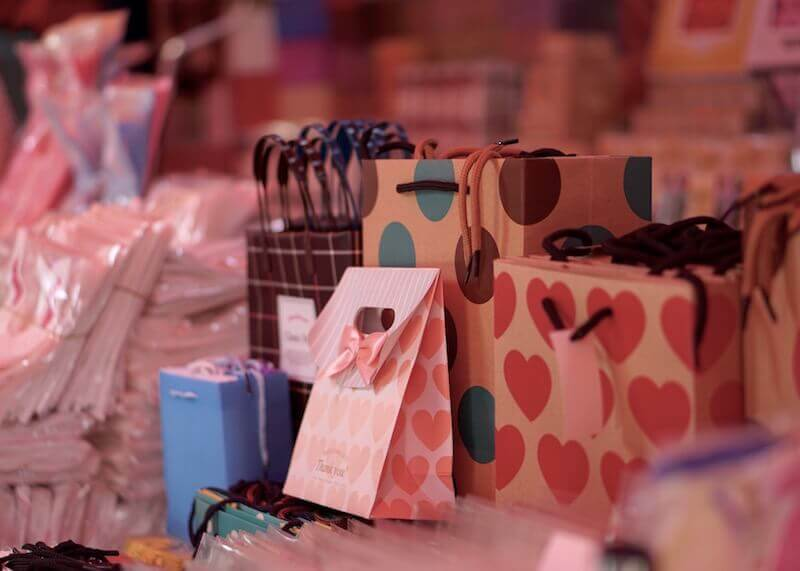 korean stationery stores seoul - beautiful bags and packaging