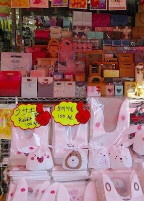 korean stationery stores seoul - cute stationery
