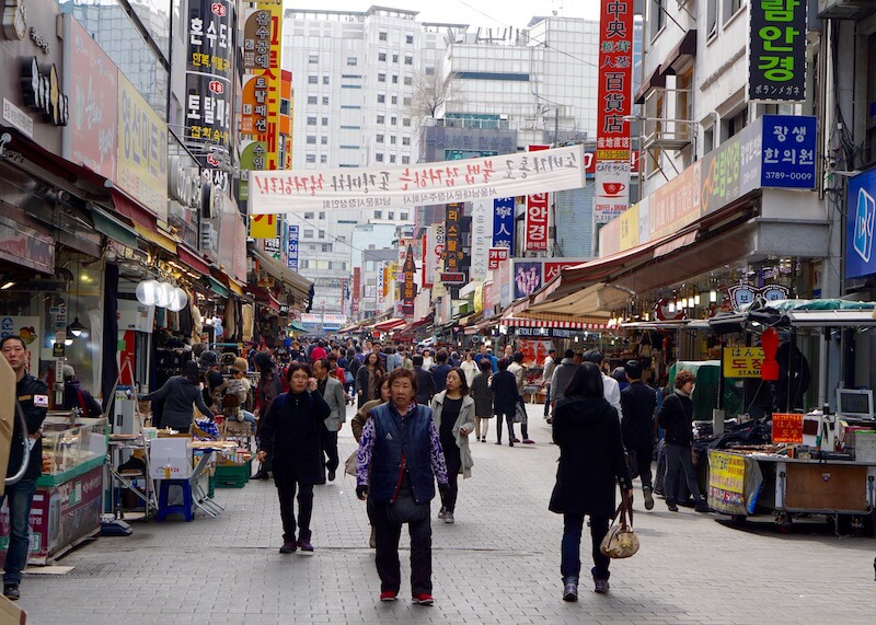 Places To Visit In Seoul - namdaemun market