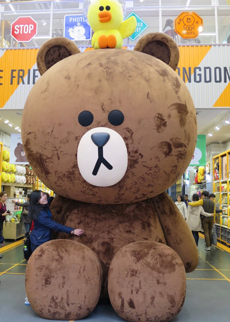 Travel Tips For Seoul Korea - visit Line Friends!