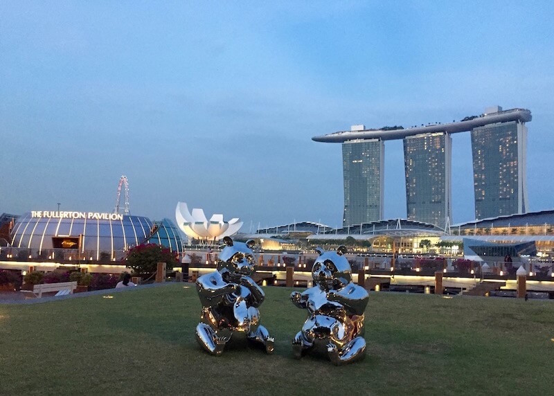 best things to do in Singapore - marina bay waterfront