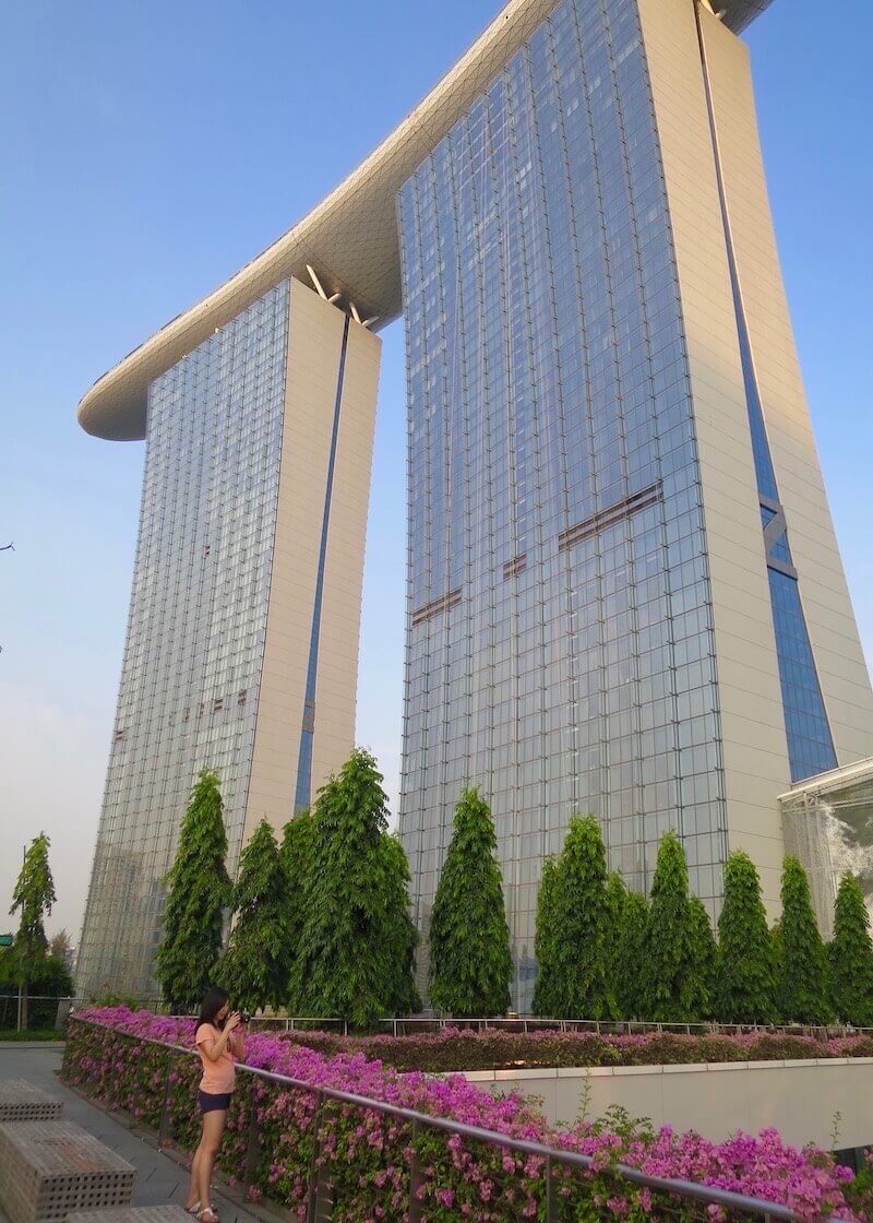 best things to do in Singapore - marina bay sands hotel