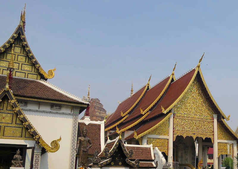 Thailand Travel - Chiang Mai Temples - 2 - Wat Chedi Luang