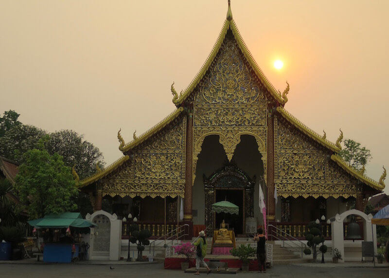 Thailand Travel - Chiang Mai Temples - 5 - Wat Chedi Luang