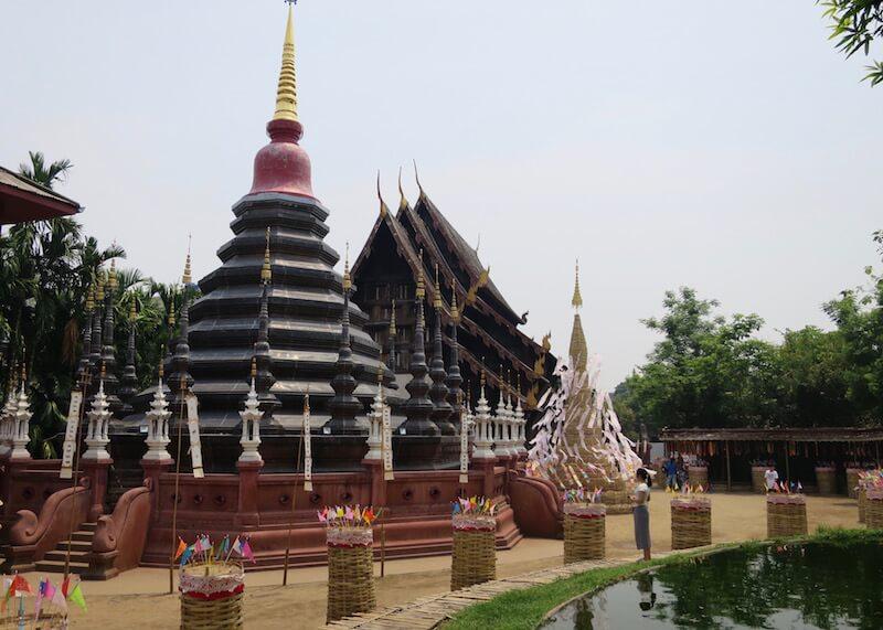 Thailand Travel - Chiang Mai Temples - 6 - Wat Pan Tao