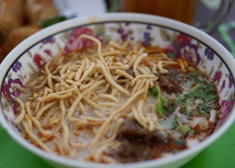 Aauthentic thai cuisine - khao soi