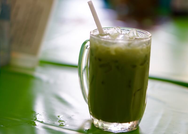 Aauthentic thai cuisine - thai green tea