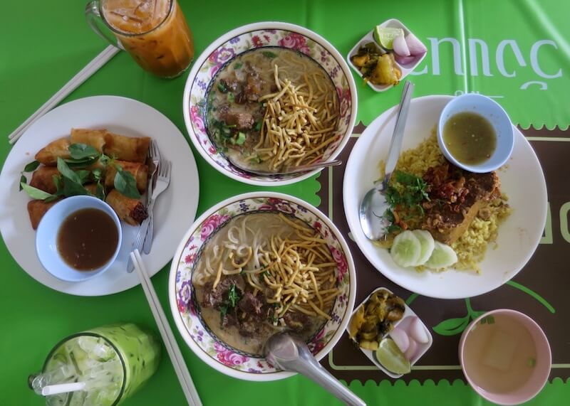 authentic thai cuisine - thailand meal