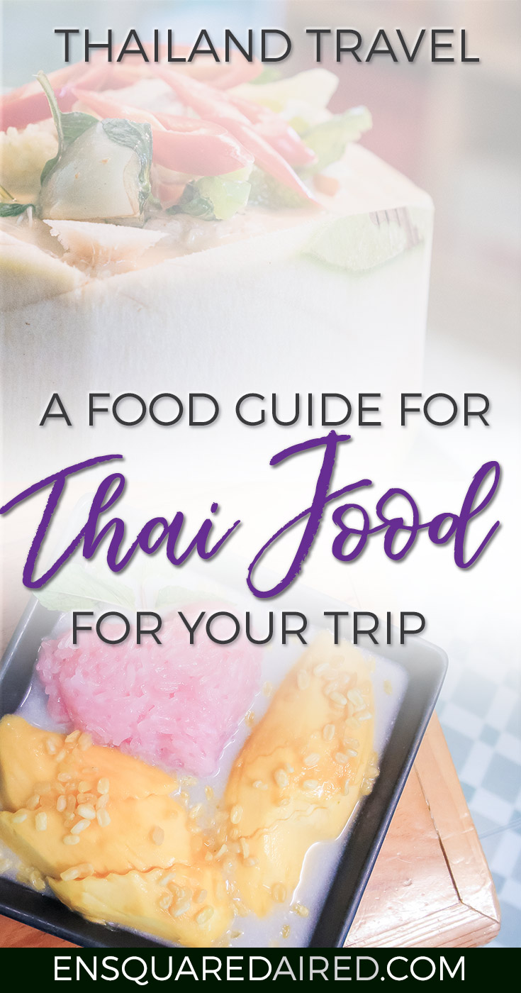 An Informative Introduction To Authentic Thai Cuisine | Are you curious about Thai food and don't know where to start? Or are you simply new to Thailand and want to know what authentic dishes to try? Click on this post to see photos of the delicious food you should try in Thailand | thailand food | How to order food in thailand | thailand food guide
