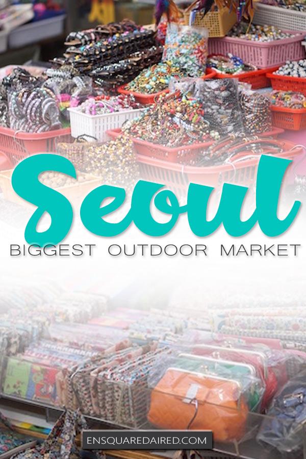 Namdaemun market in Seoul - pin
