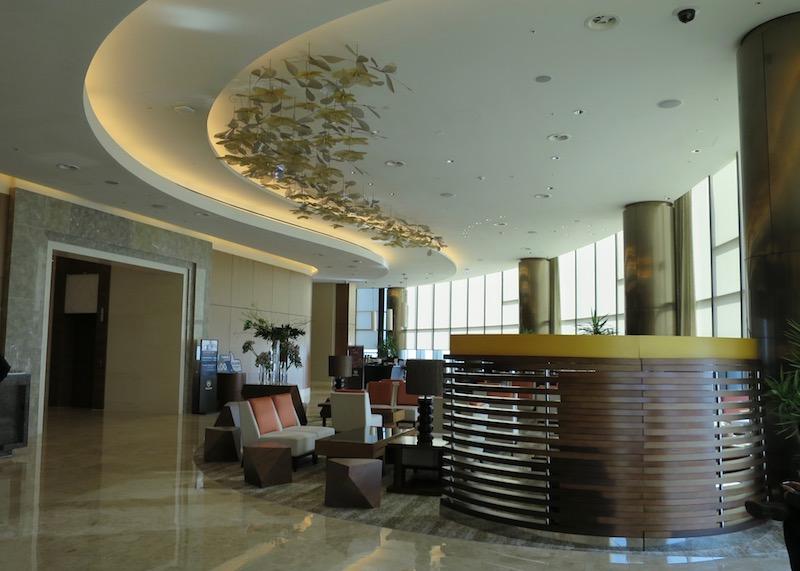 sheraton seoul d cube city hotel - hotel lounge