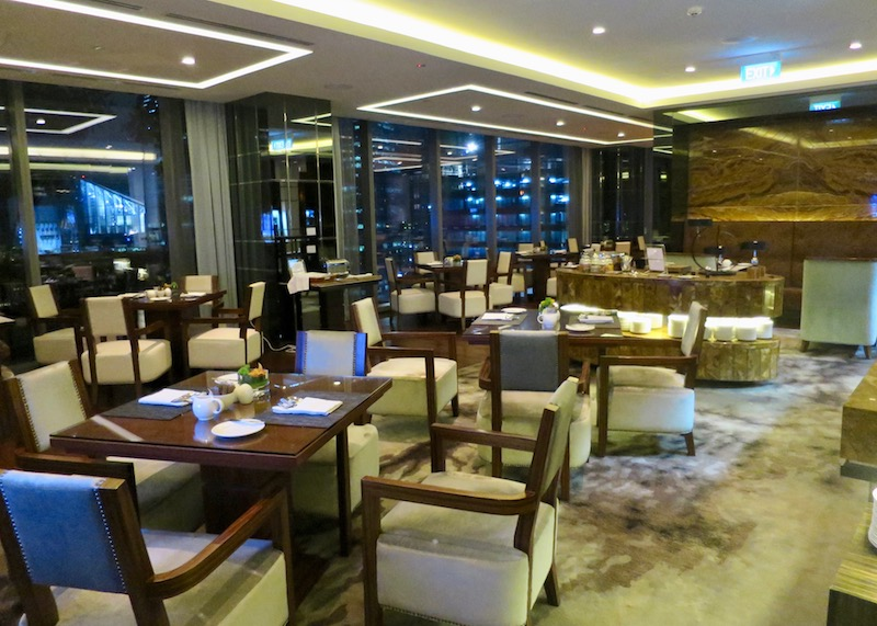 Westin Singapore review - executive lounge