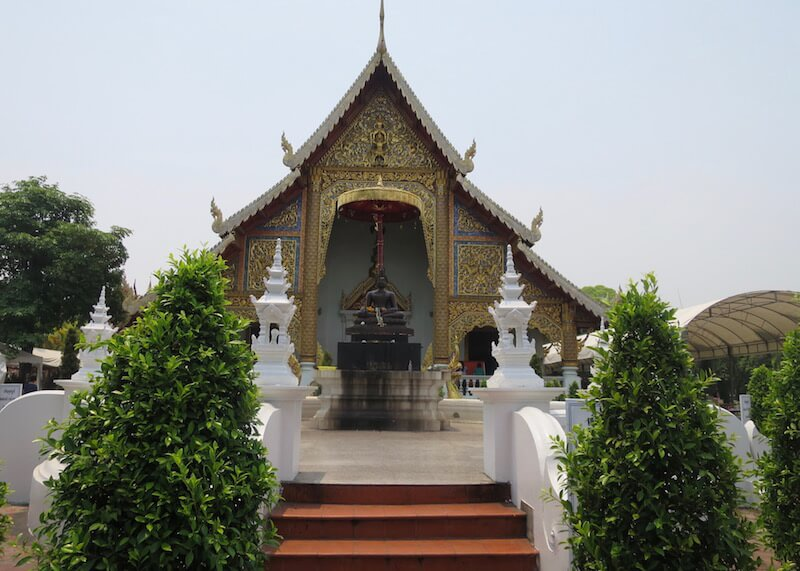 Thailand Travel - Chiang Mai Temples - 11 - Wat Phra Singh