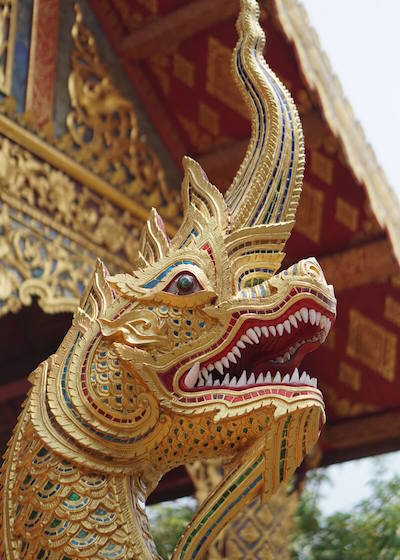 Thailand Travel - Chiang Mai Temples - 14 - Wat Phra Singh