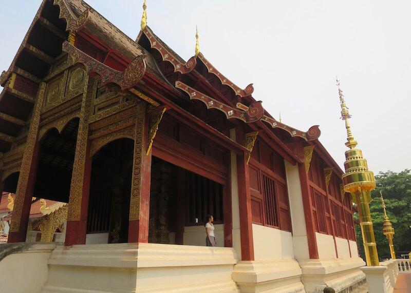Thailand Travel - Chiang Mai Temples - 20 - Wat Phra Singh