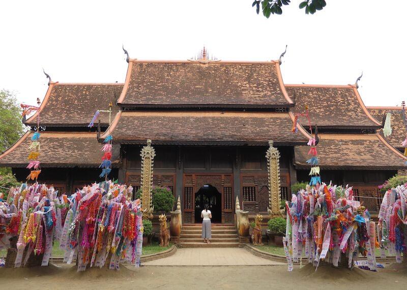 Thailand Travel - Chiang Mai Temples - 22 - Wat Lok Molee