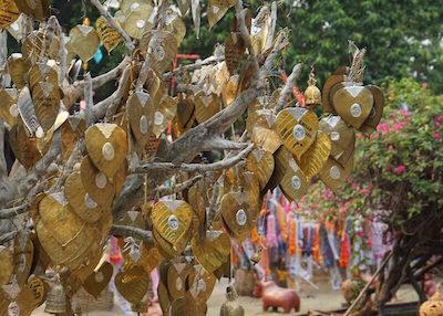Thailand Travel - Chiang Mai Temples - 23 - Wat Lok Molee