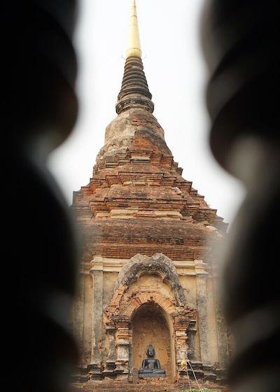 Thailand Travel - Chiang Mai Temples - 24 - Wat Lok Molee