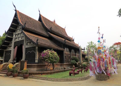 Thailand Travel - Chiang Mai Temples - 25 - Wat Lok Molee