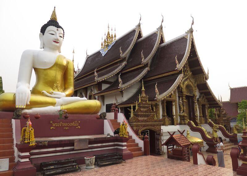 Thailand Travel - Chiang Mai Temples - 26 - Wat Rajamontean