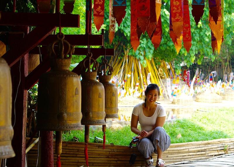 Thailand Travel - Chiang Mai Temples - 30 - Wat Pan Tao