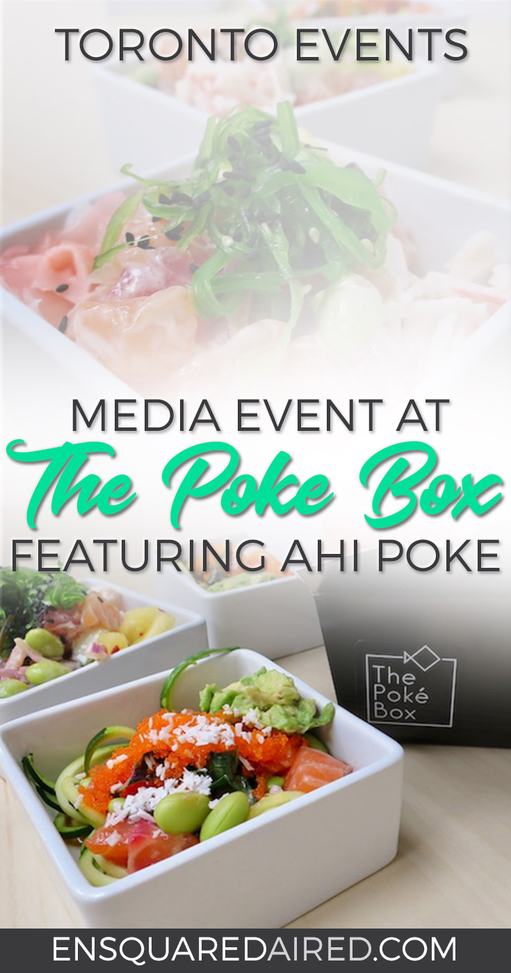 mdia event at the poke box toronto canada
