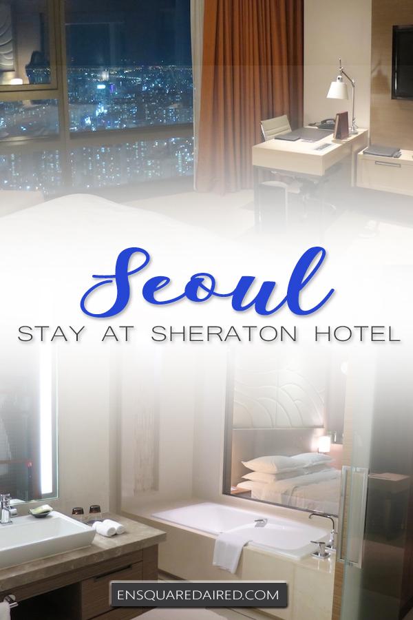 sheraton seoul d cube city hotel - pin