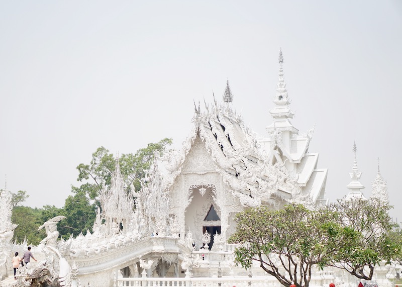 Wat Rong Khun White Temple In Chiang Rai - photo
