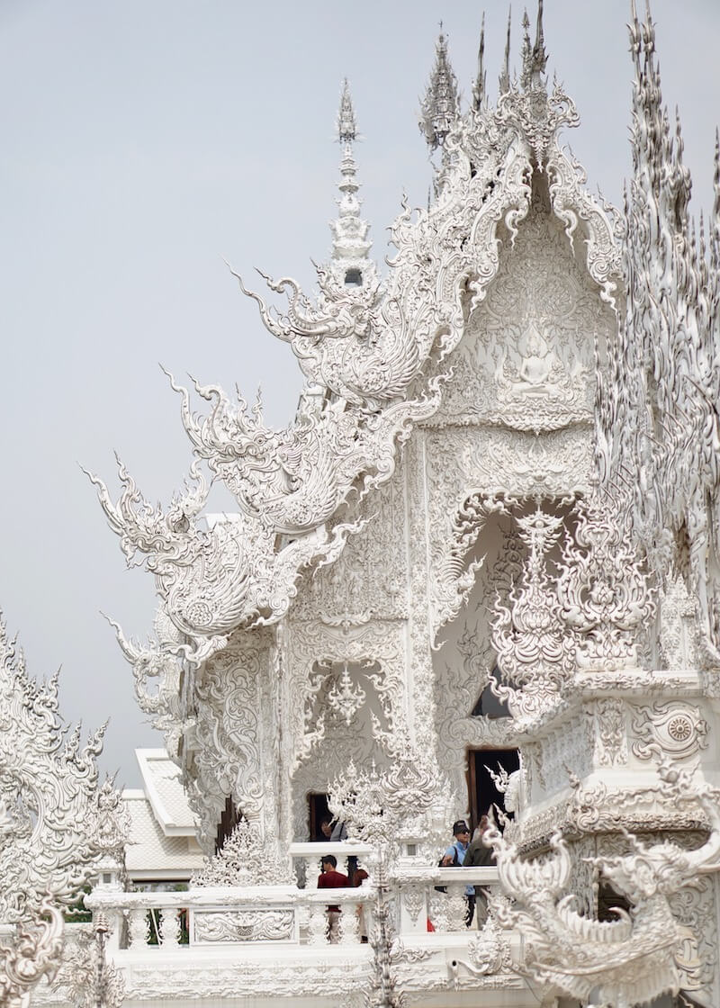 Wat Rong Khun White Temple In Chiang Rai – ubosot thai architecture