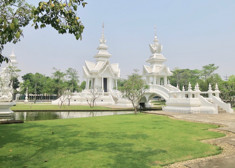 Wat Rong Khun White Temple In Chiang Rai – unfinished pagoda