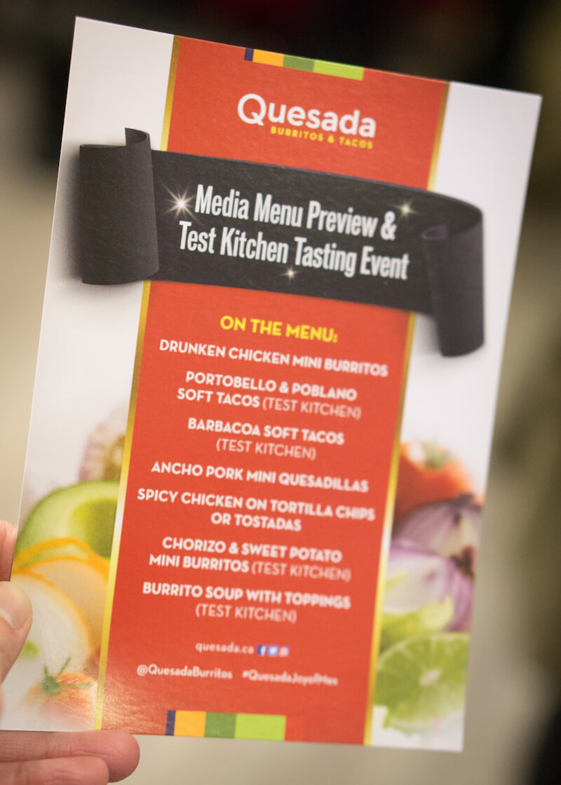 Toronto Media Event at Quesada Burritos & Tacos | Are you visiting Toronto (or you're from Toronto!) and you're looking for some places for cheap and good food? Click to read about Quesada Burritos & Tacos, a local food place which serves Mexican food that's delicious and friendly on the wallet!
