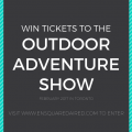 win tickets to the outdoor adventure show