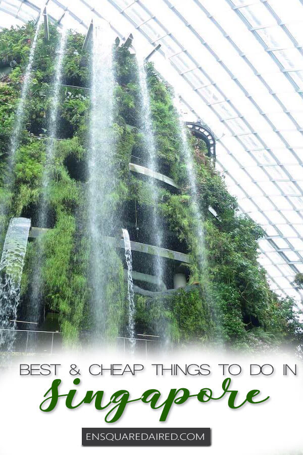 best things to do in Singapore - pinterest