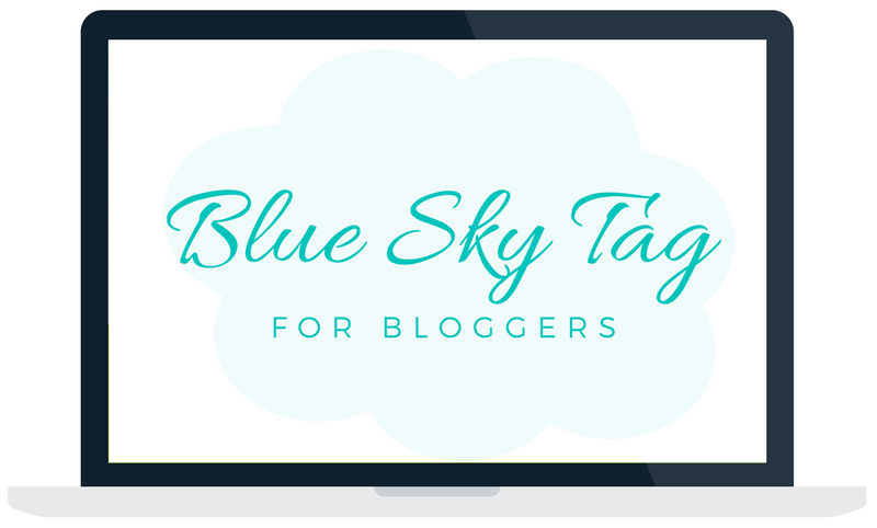 Blue Sky Tag Challenge For Bloggers