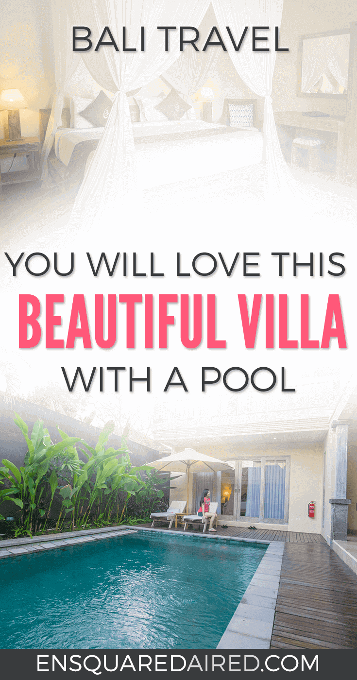What It's Like To Stay In A Breathtaking Bali Villa | This beautiful Bali villa combines serenity and luxury in an open concept space with a private pool at your doorstep. Spoiled, reclusive and rejuvenated are just some of the thoughts we felt... This place is ideal for a honeymoon #bali #resort #travel #vacation #balivilla #swimmingpool