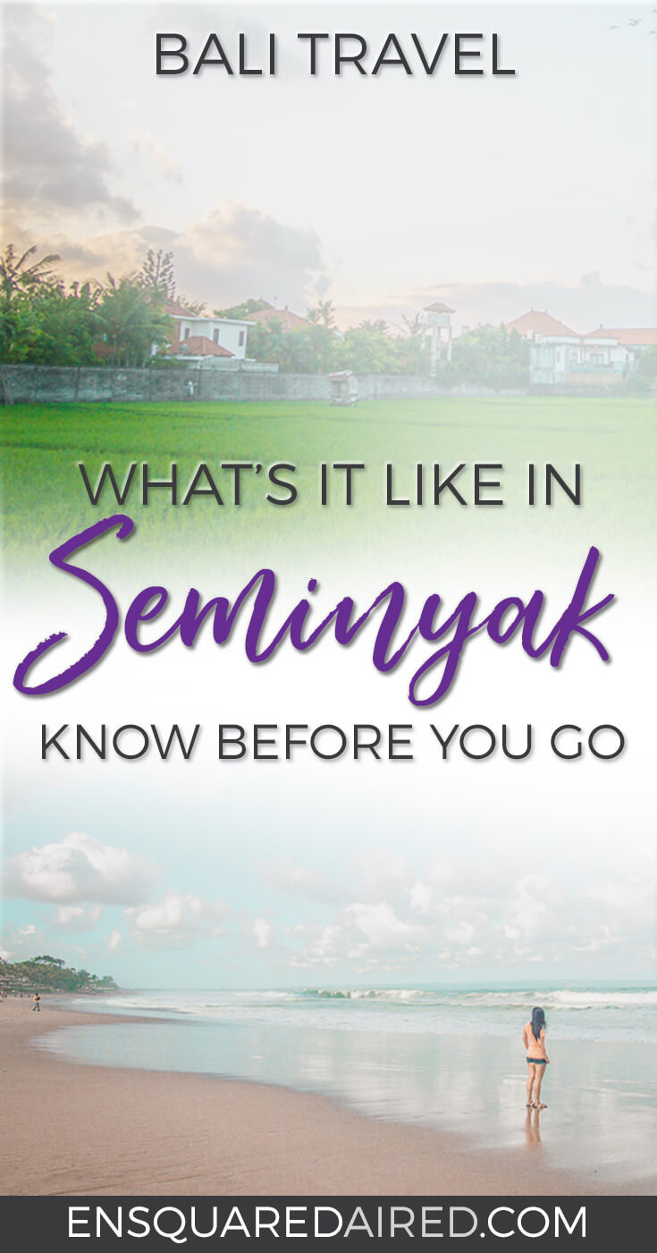 Visiting Seminyak Bali for the first time | Bali has many things to do in seminyak and is worth a visit for those who have Bali on their bucket list. The food is amazing, and the sunsets at the beach are beautiful #bali #seminyak #balitrip #balitravel |Romantic travel | Asia Travel | Round the world trip | Things to do | Culture Travel |Bali Indonesia | Seminyak Things to do in | Honeymoon | Long term travel articles