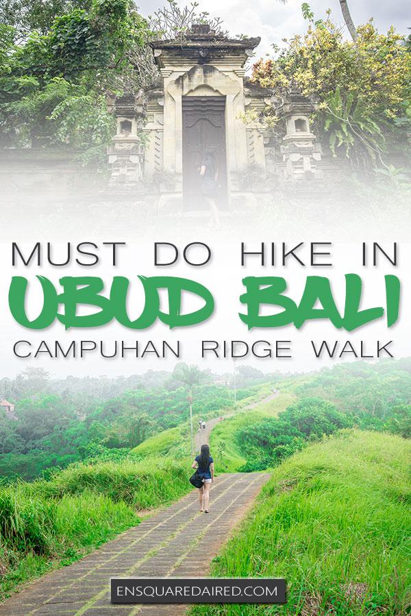 campuhan ridge walk ubud bali pin