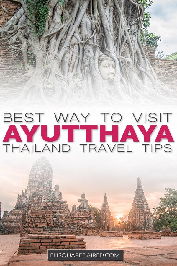 ayuttaya historical park pin