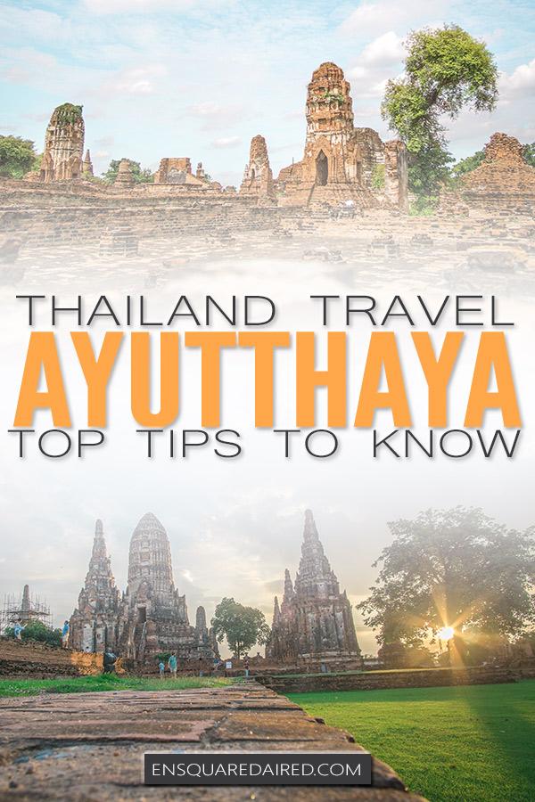 ayutthaya thailand pin