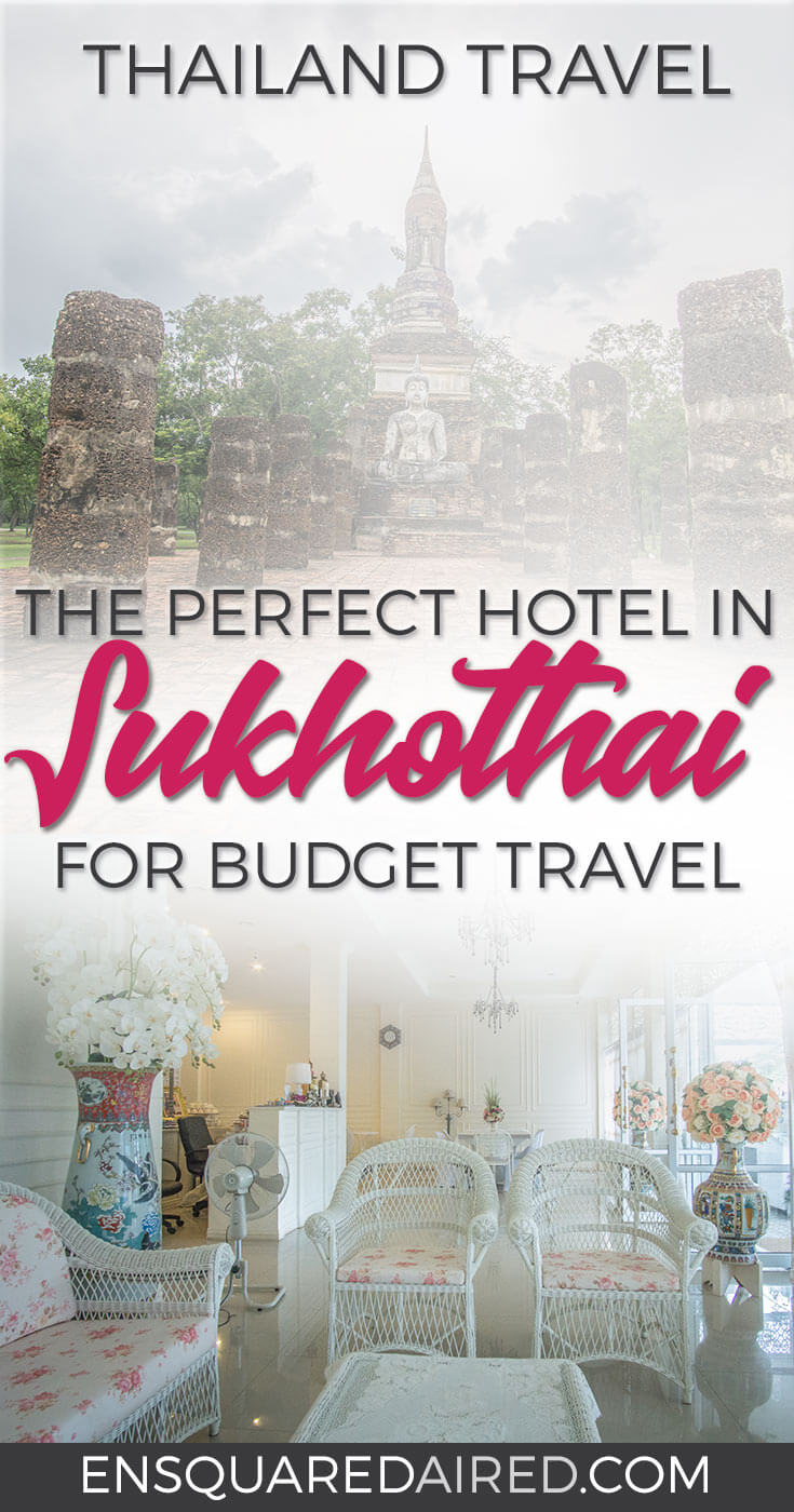 Sukhothai Hotel De'Peal the best place for budget stay