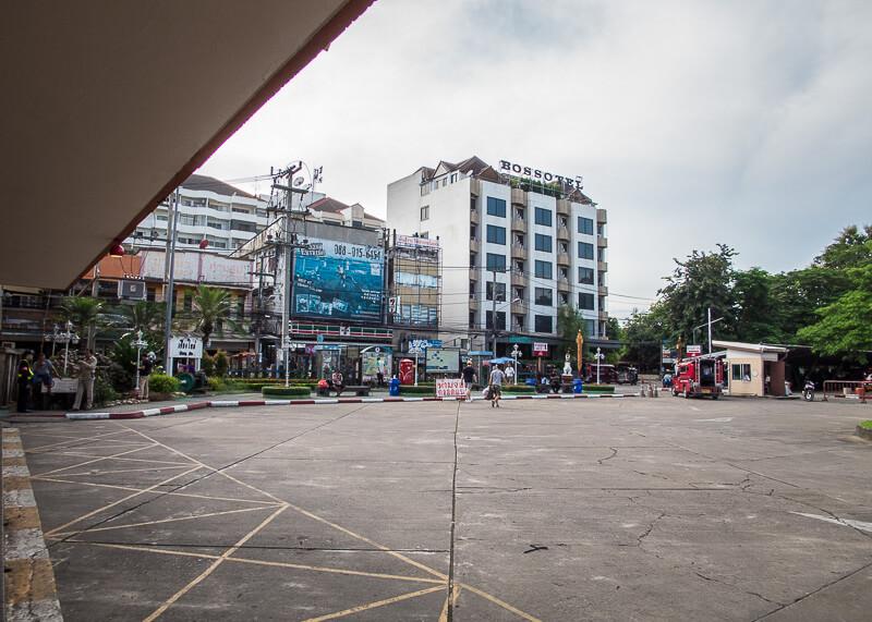 Chiang Mai Train Station parking lot