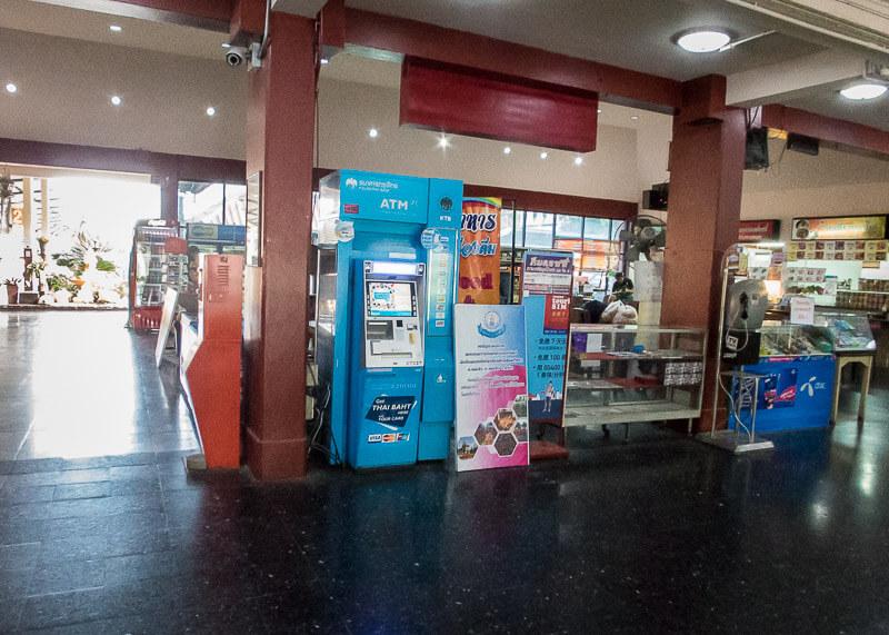 Chiang Mai Train Station ATM